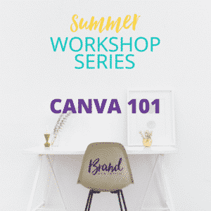 Canva 101 Workshop | Brand Web Design
