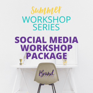 Social Media Workshop Package | Brand Web Design